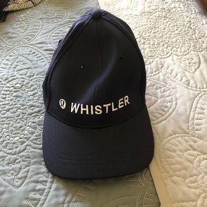 NWT Whistler Baller Hat Navy Lululemon